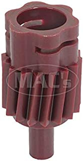 MACs Auto Parts 44-44490 19645- Mustang Type 3A 16-Tooth 3-Speed Manual or Automatic Transmission Speedometer Driven Gear, Wine