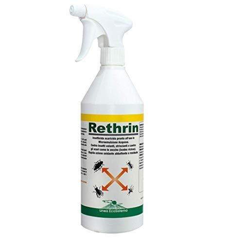 Palucart insetticida Liquido 1 insetticida Pronto Uso Rethrin acaricida Insetti Volanti stricianti Senza SOLVENTI