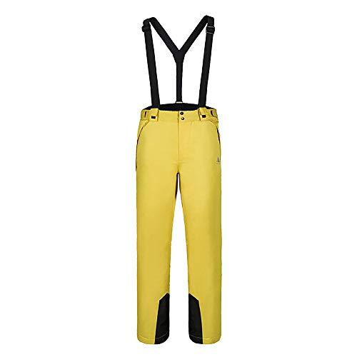 CXJC Skibroek voor heren, bretels, skibroek, waterdicht, winddicht, ademend, verdikt warm houden, outdoor, wandelen, fineer, dubbeldekker, skibroek