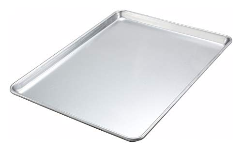 Winware ALXP-1622 16-Inch by 22-Inch Aluminum Sheet Pan, Pack of 1