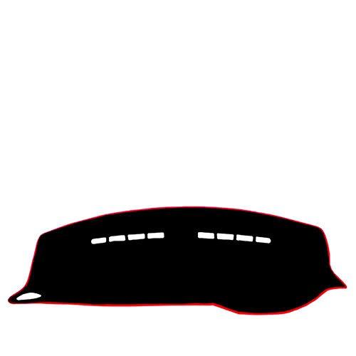 ZHHRHC Alfombrilla para salpicadero de Coche, Accesorios para Coche, Apta para Peugeot 2008208 2014 2015 2016 2017 2018
