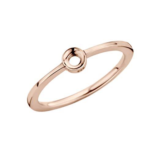 MelanO Twisted Ring Petite Roségold (58 (18.5))