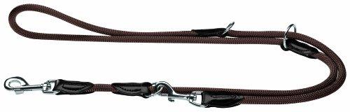 HUNTER Freestyle Verstellbare Führleine für Hunde, robust, wetterfest, 1,0/200 cm, braun