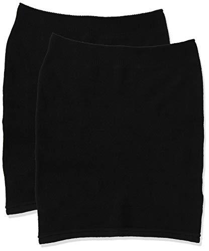 [グンゼ] 腹巻 ONPAN オンパン 吸湿発熱 はらまき 同色 2枚組 PAL601 レディース ブラック 日本 M-L (日本サイズM-L相当)