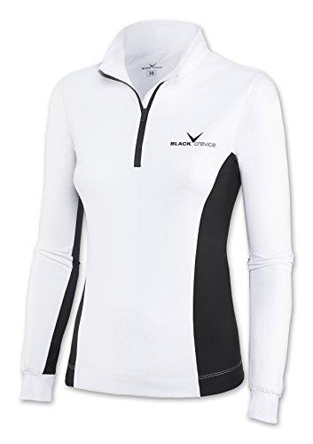 Black Crevice - Col roulé Embout - Crevice de ski - Femme - Blanc (Blanc/Noir) - Taille: 44