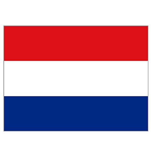 supportershop Unisex Nederlandse vlag, blauw, 150 x 90 cm