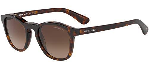 Giorgio Armani 0AR8112 Gafas de sol, Dark Havana, 50 para Hombre