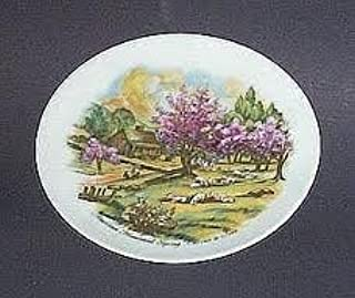 American Homestead Spring Currier and Ives Plate