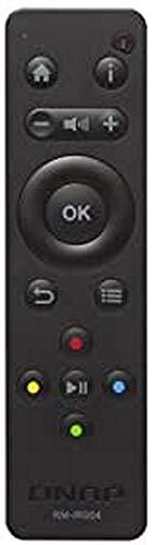 Qnap rm-ir004IR Wireless Drücken Sie die Tasten schwarz Fernbedienung–Fernbedienungen (IR Wireless, schwarz, QNAP, Drücken Sie die Knöpfe, AAA, 39mm)