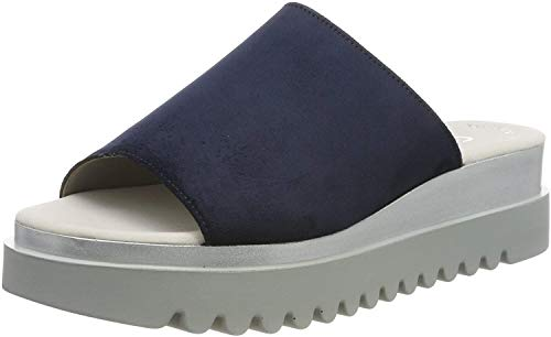 Gabor Shoes Damen Jollys Pantoletten, Blau (River 38), 38.5 EU