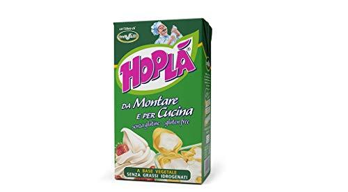Trevalli Hopla Panna da montare e per cucina Sahne zum Kochen Gluten-frei basierend auf pflanzlichen Fetten 1000ml