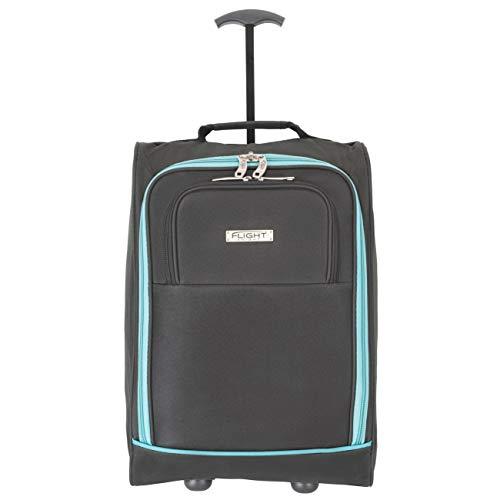 Flight Knight handbagage koffer easyJet Ryanair Goedgekeurde 2 wielen Lichtgewicht tas Ideaal voor vliegreizen 55x35x20cm