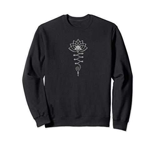 Lotus Blüte, Lotusblume, Yoga Symbol, Buddhismus, Meditation Sweatshirt