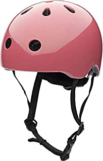 Coconuts Vintage Pink Kids Helmet with Magnetic No-Pinch Closure Match to Trybike