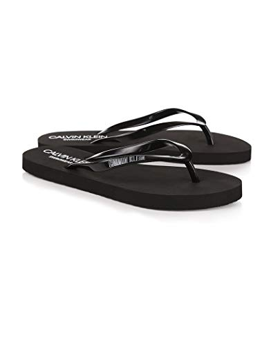 Calvin Klein Chanclas Zapatillas Mujer mar Piscina
