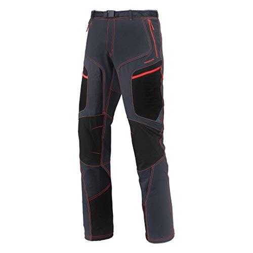 Trangoworld PC007385-441-S Pantalon Long pour Homme, Gris (Anthracite) / Noir, S