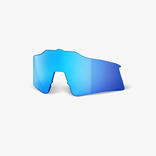 100 Percent SPEEDCRAFT SL Replacement Lens-Hiper Blue Multilayer Mirror Lentes DE Repuesto, Hombre