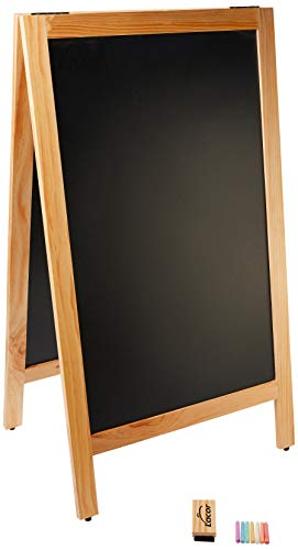 Lacor Toner et laser Menu Tableau noir, 65 x 115 cm, Noir