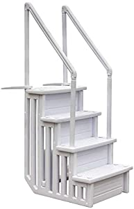 Gre EPE30 - Escalera Sintética para Piscina Enterrada, 206 cm