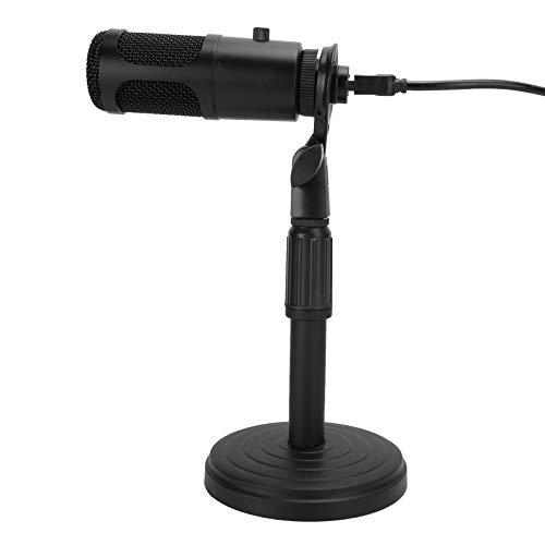 Bindpo Micrófono de computadora, Soporte retráctil de bajo Ruido, micrófono de Condensador,...