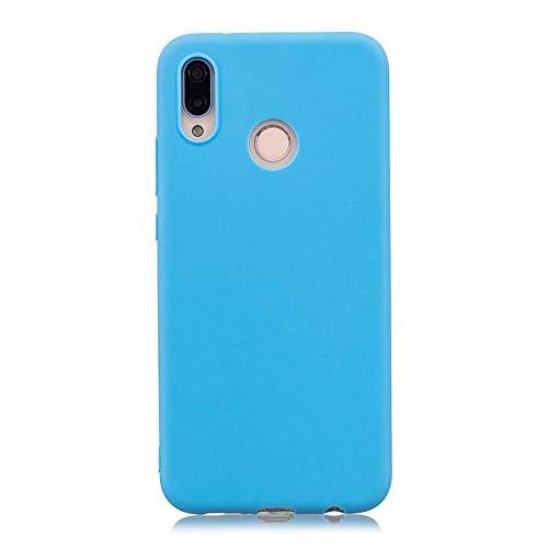 LIANLI Candy Macaron - Carcasa para Xiaomi Pocophone F1 Mi A1 A2 Lite 5X 8 SE 6X Redmi 4A 4X Note 4 5A 5 Plus 6 Pro 6A S2 Soft Cases (Color: Azul, Tamaño: Redmi Note 4X 64GB)