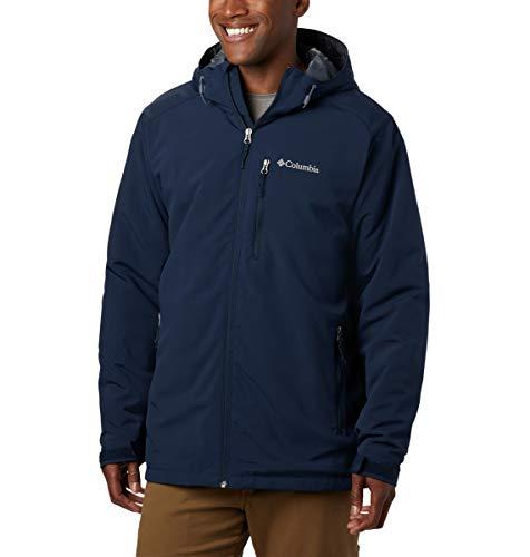 Columbia Men's Gate Racer Softshell Jacket, Collegiate Navy, Large