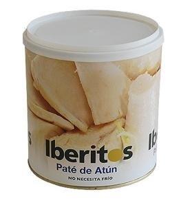 Bote de paté de atún en aceite Iberitos 700 gramos