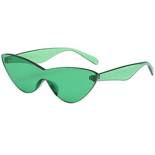 Battnot Siamesische Sonnenbrillen für Damen Herren, Katzenaugen Form Solide Rahmen Unisex Vintage Mode Anti-UV Gläser Schutzbrillen Männer Frauen Retro Billig Cat Eye Sunglasses Women Eyewear