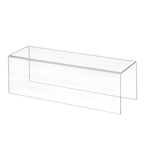 Zeigis Dekobrücke/U-Ständer/Präsentationsständer 300x100x100mm aus Acrylglas aus Plexiglas