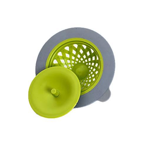 Monllack Filtro de Fregadero, colador de Silicona para Fregadero de Cocina, Grande, Ancho, 11,2 cm de diámetro, Fregadero, Cubierta de Drenaje de Piso, Filtro de Pantalla, Lavabo
