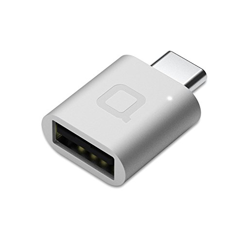 nonda USB C to USB Adapter,USB-C to USB 3.0 Adapter,USB Type-C to USB,Thunderbolt 3 to USB Female Adapter OTG for MacBook Pro 2019/2018,MacBook Air 2018,Surface Go,and More Type-C devices(Silver)