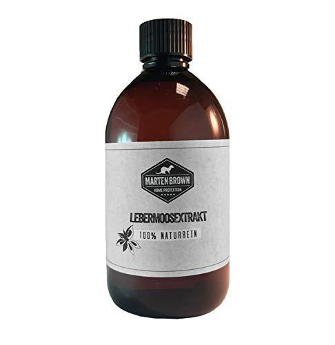 Martenbrown® [1000ml Lebermoos Extrakt 1l Lebermoos Universaldünger Pilzheilende Wirkung Anti Pilz Extrakt für Bakterien und Pilzbefall bei Tieren und Pflanzen