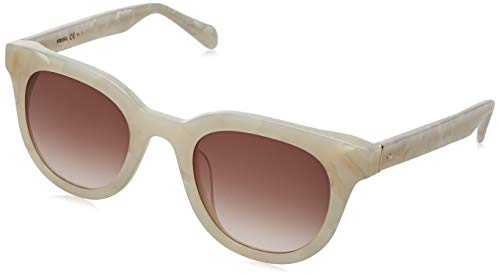 Fossil FOS 2097/S gafas de sol, WHTE MRBL, 48 para Mujer