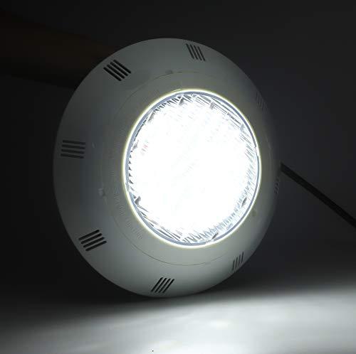 Lámpara subacuática, lámpara LED para piscina, impermeable 40W para fuente