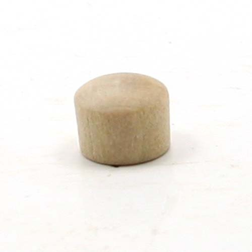 mylittlewoodshop–Paquete de 6–Roundhead enchufe botón–5/16pulgadas de diámetro sin terminar madera (ww-br0312–6)