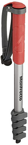 Manfrotto MMCOMPACT-RD, Lightweight Compact Monopod 330gr, with Wrist...