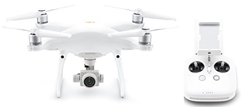 DJI Phantom 4 Pro V2.0, Inteligencia visionaria, Camera de 20 MP, Videos 4K, Tiempo de Vuelo de 30...