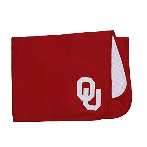 FAST ASLEEP NCAA University of Oklahoma Baby Blanket for Boy or Gir