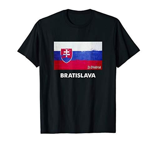 Bratislava Slowakei Trikot T-Shirt