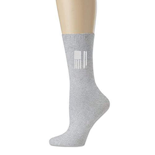 BEDKKJY dunne zilveren lijn corrigerende officier mannen ademende katoenen sokken schattige bemanning sokken jurk sokken
