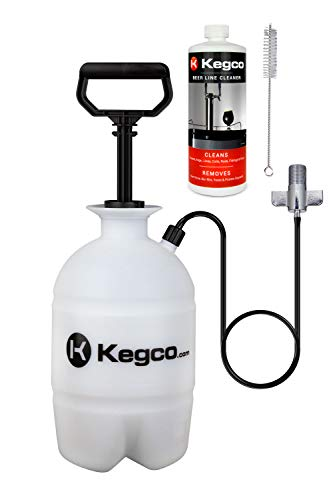 Kegco KC PCK32 Keg Cleaning Kit, Black
