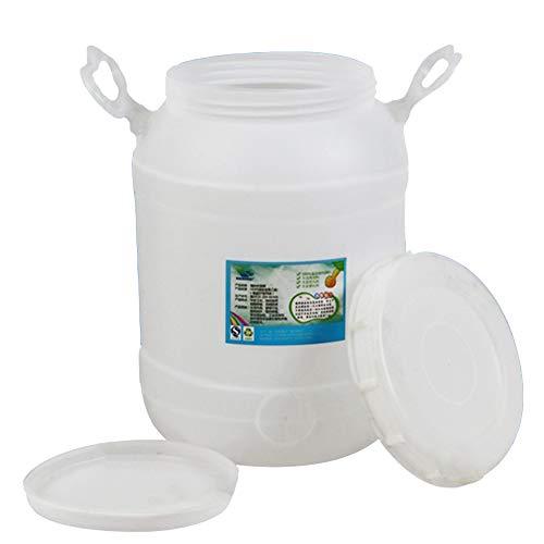 MNSSRN Barriles de Almacenamiento, barriles de fermentación, Miel, Vino y Otras calificaciones de Alimentos líquidos, Seguros respetuosos con el Medio Ambiente,A,20L