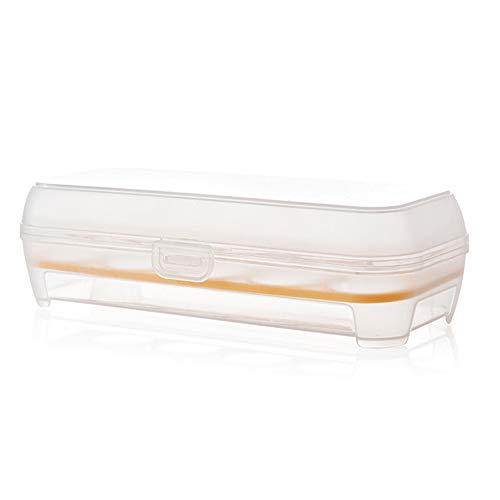 Inicio Kühlschrank Eieraufbewahrungsbox 10 Eierhalter Vorratsbehälter Eieraufbewahrungsschale Frische Box