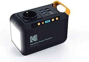 KODAK PPS100 Pro - Estación de Carga portátil con batería de Iones de Litio de 88,8WH, Enchufe de CA/CC, 1 Puerto USB C,...