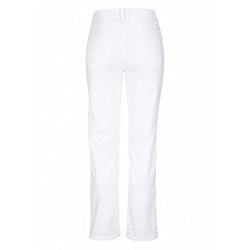 Bonita 1205804 Damen 5-Pocket Jeans Hose weiß (40)