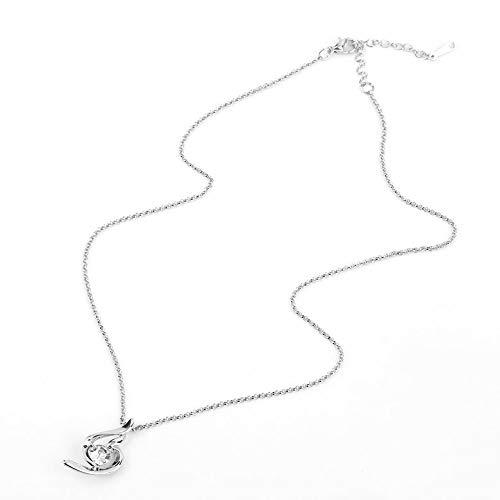 Preisvergleich Produktbild Fengxian Multicolor glück Engel Mode weichen kristall Frauen persönlichkeit anhänger Halskette Kette schönen schmuck [SYM]