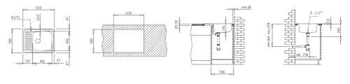 Teka classico 1C MTX fregadero el fregadero de la cocina grifo fregadero con fregadero, classico 1C MTX