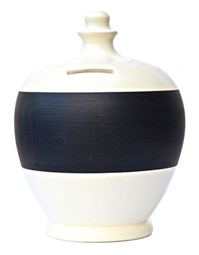 Terramundi personalizzato lavagna salvadanai, Ceramica, White