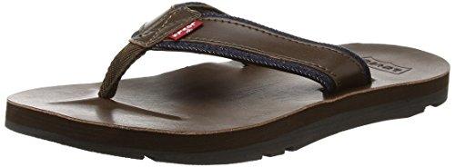 Levis Footwear and Accessories Herren Jurupa Sandalen, Braun (Dark Brown), 39/40 EU