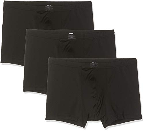 ESPRIT Herren Auburn Boxershorts, 001/BLACK, XL (3er Pack)